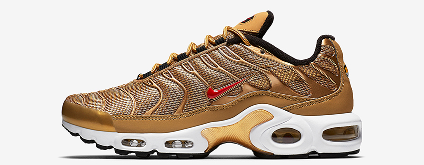 7e73858e95 Nike Air Max Plus Metallic Gold 887092-700 Release Date Buy New Sneakers  Trainers FOR