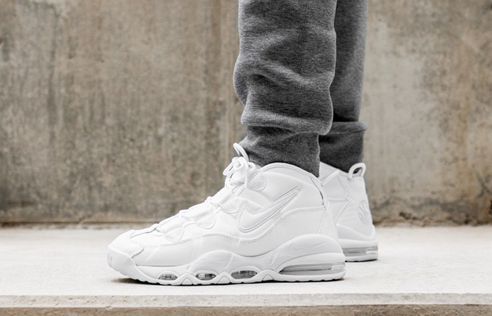 separation shoes a8ee3 ec06e Nike Air Max Uptempo 95 White