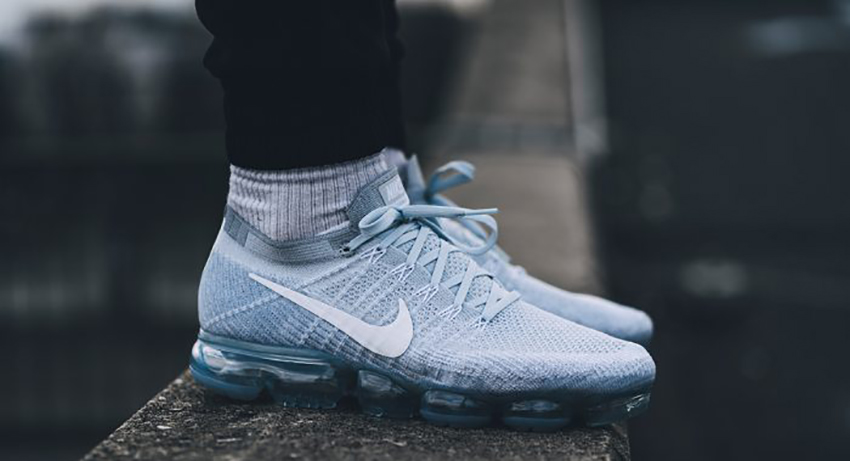 Nike Vapormax Grey On Feet
