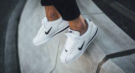 online store c91e5 72ac3 Nike Cortez Basic Jewel White Black QS