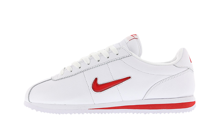 best service c07bb e7983 Nike Cortez Jewel TZ White Red QS – Fastsole