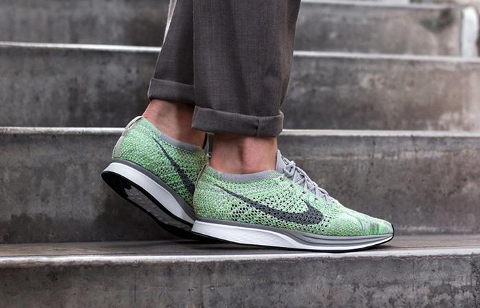... nike flyknit racer pistachio 526628 103 buy new sneakers trainers for  man women in uk