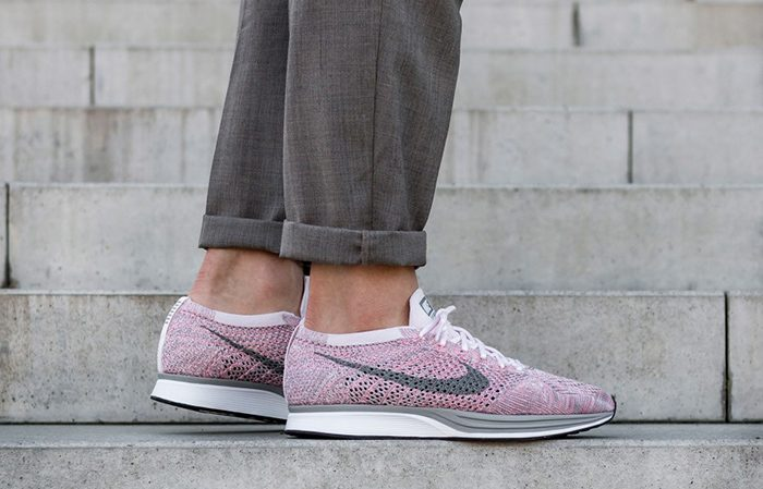 1f674d39b8f1 Nike Flyknit Racer Strawberry 526628-604 Buy New Sneakers Trainers FOR Man  Women in UK ...