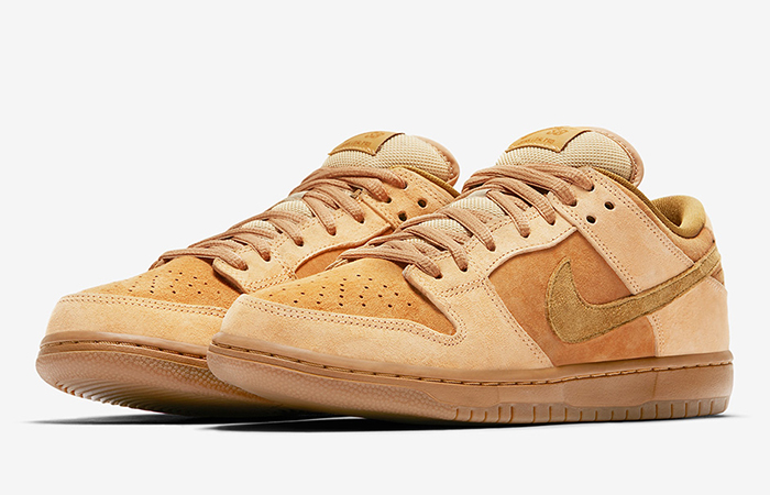 Nike SB Dunk Low Wheat Reese Forbes 883232-700 Buy New Sneakers Trainers FOR Man Women in UK Europe EU 06
