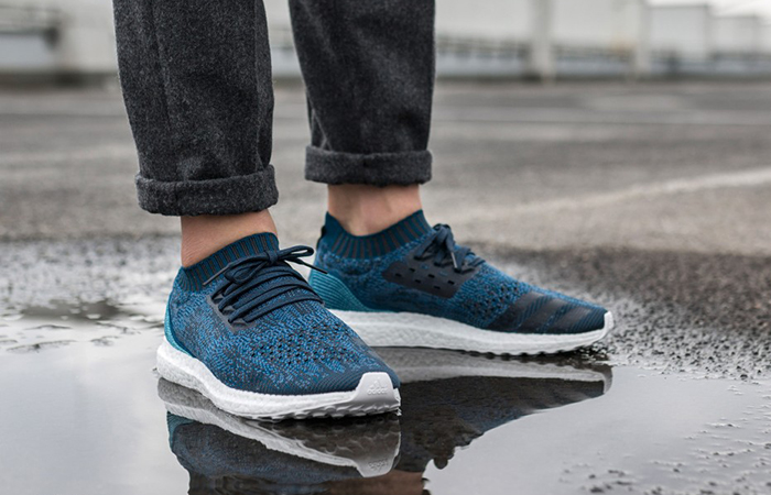 Parley adidas Ultra Boost Uncaged Blue BY3057 Release Date