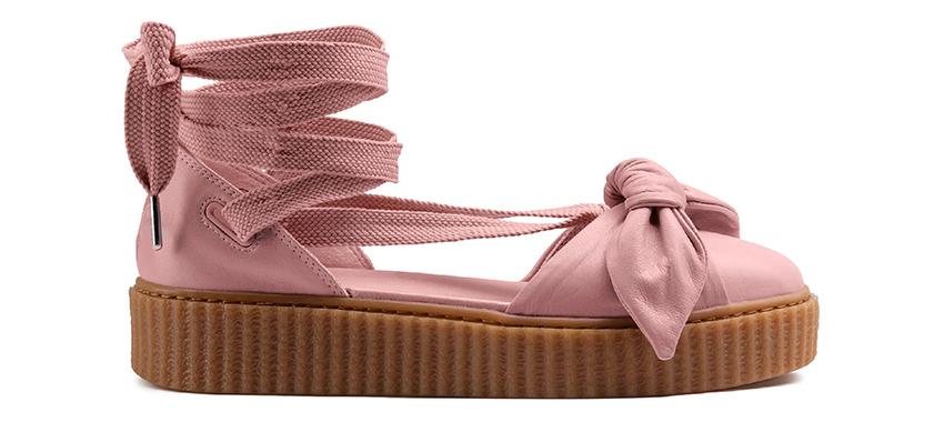 huge discount d1719 9af83 Rihanna PUMA Fenty Bow Creeper Sandals Releasing this May ...