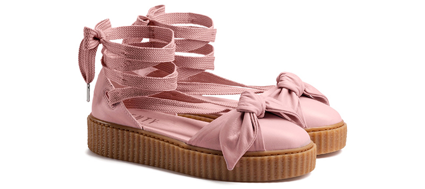 c02b34791dc5 Rihanna PUMA Fenty Bow Creeper Sandal Pink 365794-01 Buy New Sneakers for  women in