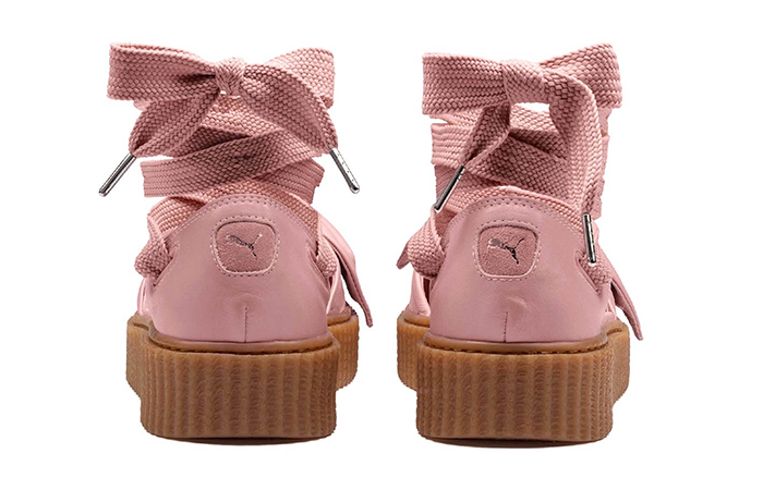 rihanna x puma fenty bow creeper sandal pink. Black Bedroom Furniture Sets. Home Design Ideas