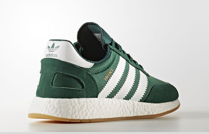 adidas Iniki Runner Collegiate Green BY9726 Buy New Sneakers Trainers FOR Man Women in UK Europe EU 03