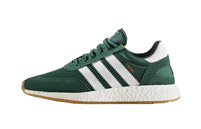 adidas Iniki Runner Collegiate Green BY9726 Buy New Sneakers Trainers FOR Man Women in UK Europe EU 04