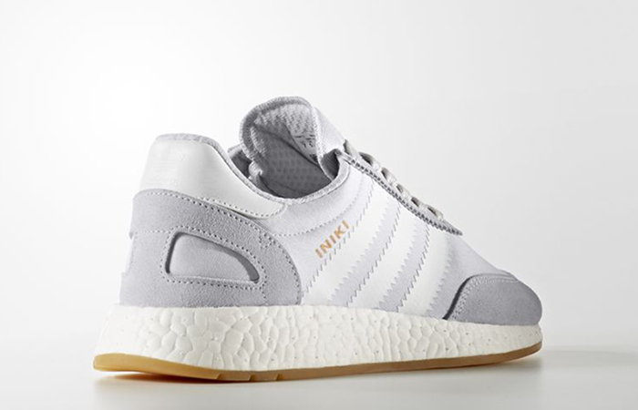 adidas Iniki Runner Grey Gum BY9093 Buy New Sneakers Trainers FOR Man Women in UK Europe EU 02