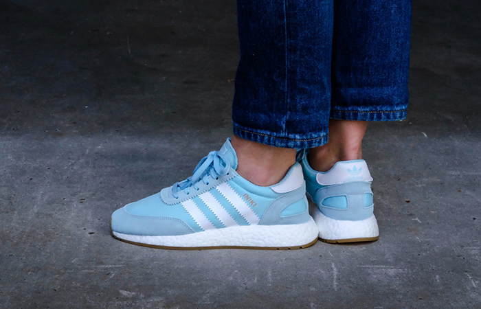 adidas Iniki Runner Icey Blue BY9097 Buy New Sneakers for women in UK Europe EU 01