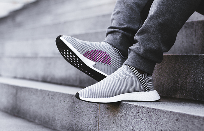 43c161dfeda5f adidas NMD CS2 Grey Pink BA7187 Buy New Sneakers Trainers FOR Man Women in  UK Europe