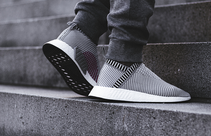 e947e0f9b3392 ... adidas NMD CS2 Grey Pink BA7187 Buy New Sneakers Trainers FOR Man Women  in UK Europe ...