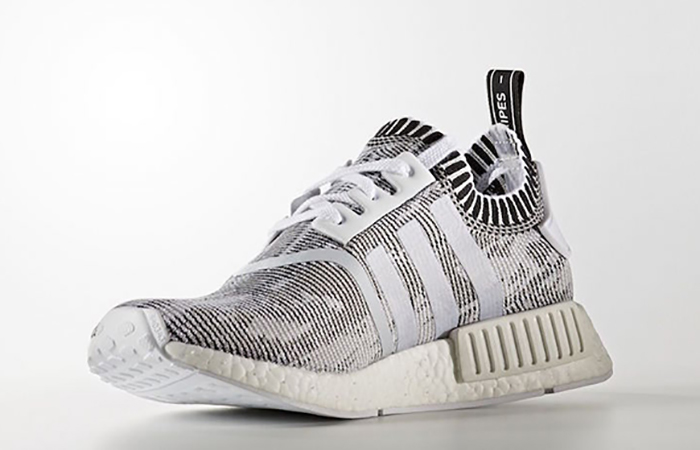 Adidas NMD R1 Glitch Grey.