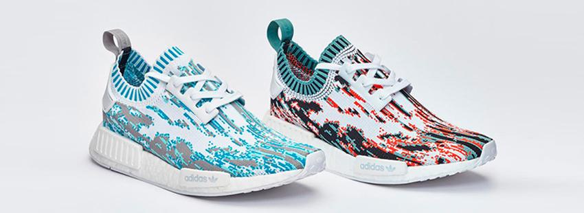033abd6b7e8c1 adidas NMD R1 Primeknit Datamosh RED Blue Glitch BB6364 BB6365 Buy New  Sneakers Trainers FOR Man