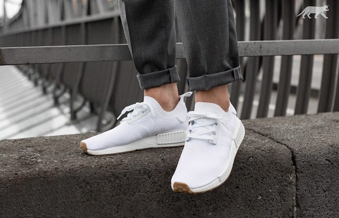 adidas NMD R1 White Gum BY1888 Buy New Sneakers Trainers FOR Man Women in UK Europe EU 01