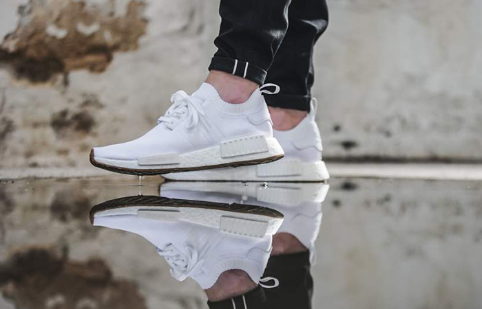 adidas NMD R1 White Gum BY1888 Buy New Sneakers Trainers FOR Man Women in UK Europe EU 05