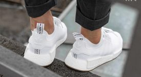 adidas NMD R1 White Gum BY1888 Buy New Sneakers Trainers FOR Man Women in UK Europe EU 06