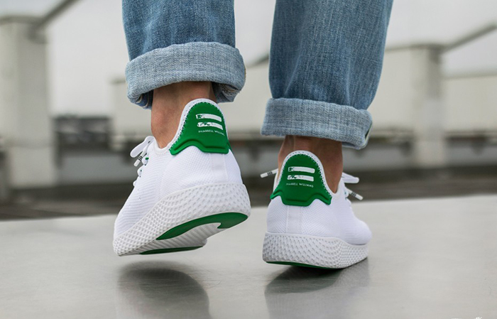 3993312c9fd08 ... adidas Pharrell Williams Tennis Hu White Green BA7828 BY2674 Buy New  Sneakers Trainers FOR Man Women ...