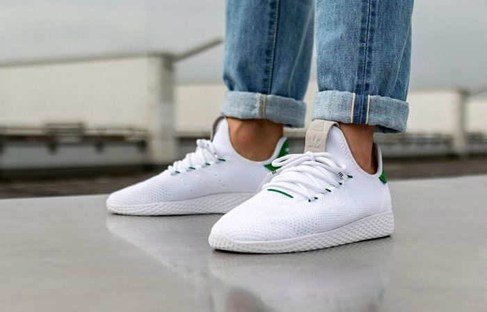 ed2c8d86e adidas Pharrell Williams Tennis Hu White Green BA7828 BY2674 Buy New  Sneakers Trainers FOR Man Women ...