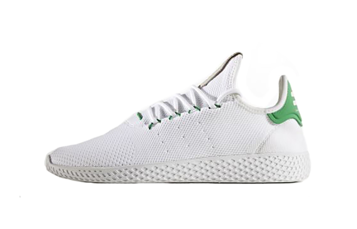 bbd42ba932f1a ... adidas Pharrell Williams Tennis Hu White Green BA7828 Buy New Sneakers  Trainers in UK Europe EU ...