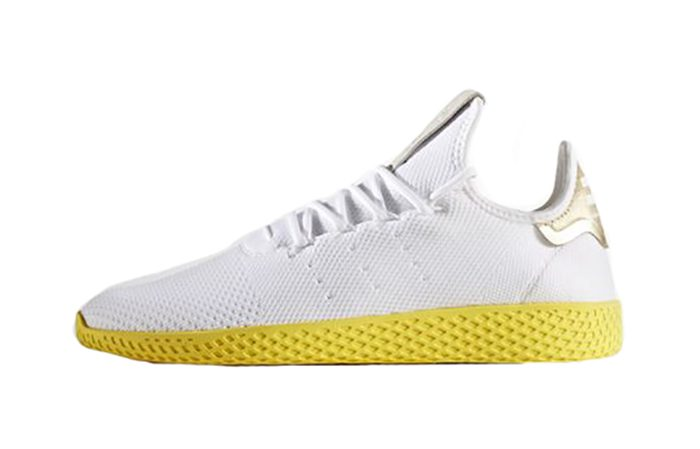 6e4f1f63f636 ... adidas Pharrell Williams Tennis Hu White Yellow BY2674 Buy New Sneakers  Trainers in UK Europe EU ...