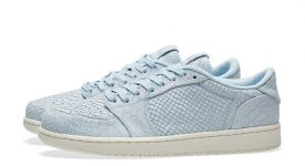 Air Jordan 1 Low No Swoosh Ice Blue 872782-441 f