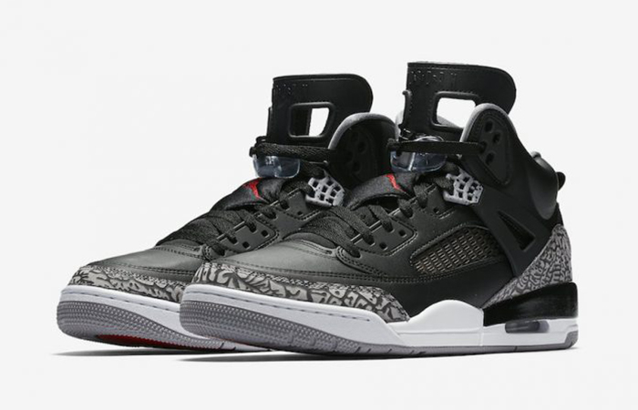 Women Air Jordan Spizike Black