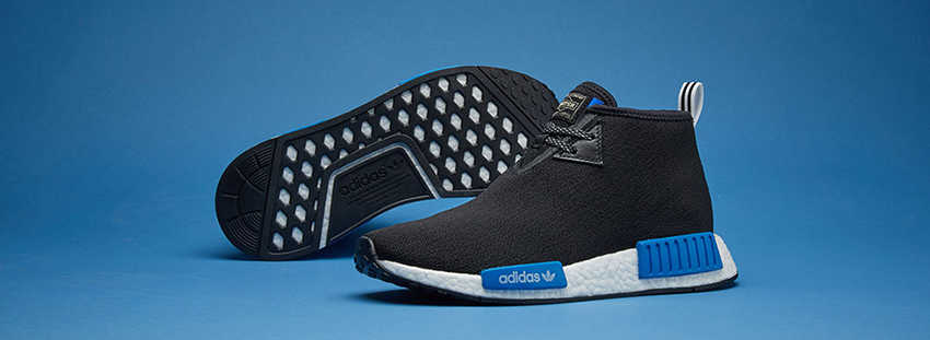 Closer Look at the Porter x adidas NMD Chukka Black CP9718 03