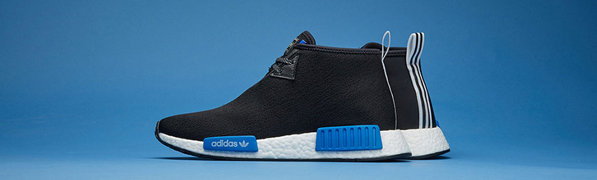Closer Look at the Porter x adidas NMD Chukka Black CP9718 05