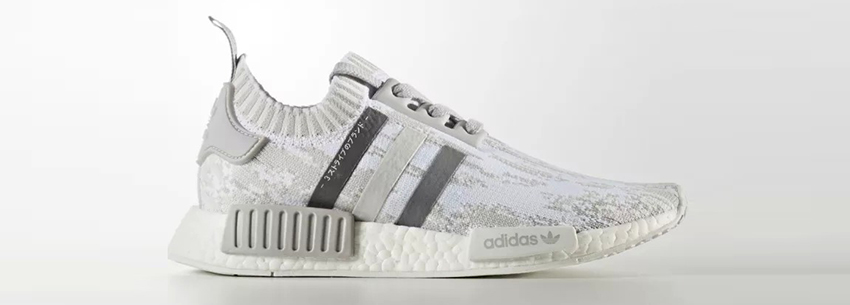 d5ab1ada8f733 First Look at the adidas NMD R1 Japan Boost Glitch Camo White Buy New  Sneakers Trainers