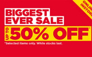 Mega Sale at JD Sports upto 50%