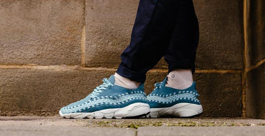 Nike Air Footscape Smoky Blue – £85