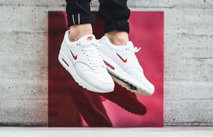 Nike Air Max 1 Jewel OG White 918354-104 Buy New Sneakers Trainers FOR Man Women in UK Europe EU 11