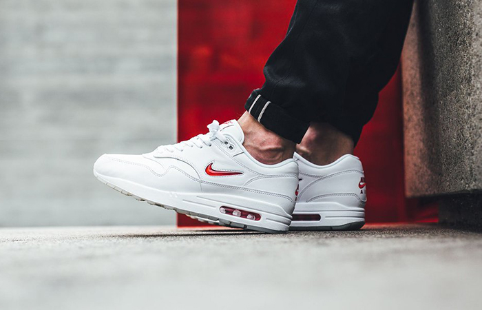 Nike Air Max 1 Jewel OG White 918354-104 Buy New Sneakers Trainers FOR Man Women in UK Europe EU 13