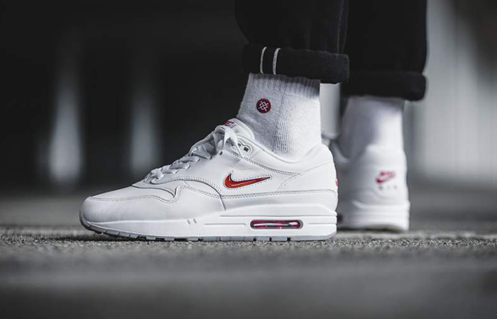 Nike Air Max 1 Jewel OG White 918354-104 Buy New Sneakers Trainers FOR Man Women in UK Europe EU 14
