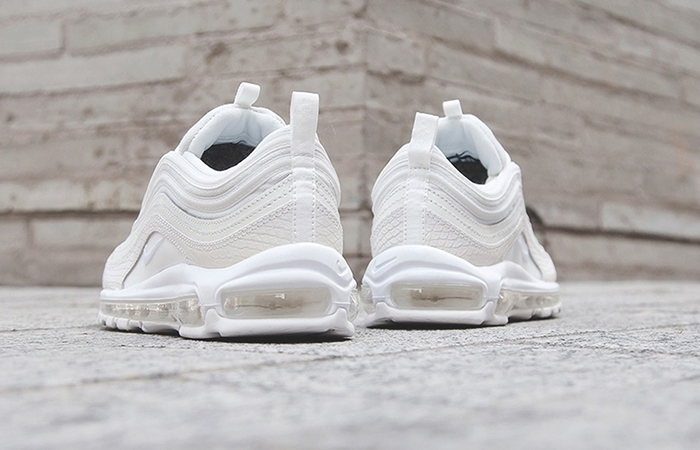 Nike Air Max 97 White Snakeskin 921826-100 Sneaker in UK EU, Trainer in UK EU, Yeezy Nike Jordan adidas NMD Reebok in UK DE EU 02