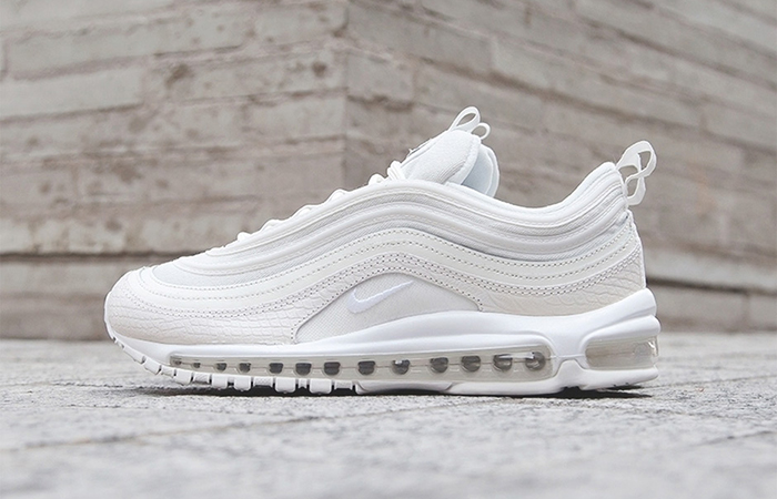Nike Air Max 97 White Snakeskin 921826-100 Sneaker in UK EU, Trainer in UK EU, Yeezy Nike Jordan adidas NMD Reebok in UK DE EU 03
