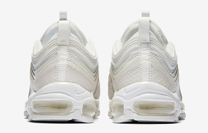 Nike Air Max 97 White Snakeskin 921826-100 Sneaker in UK EU, Trainer in UK EU, Yeezy Nike Jordan adidas NMD Reebok in UK DE EU 07