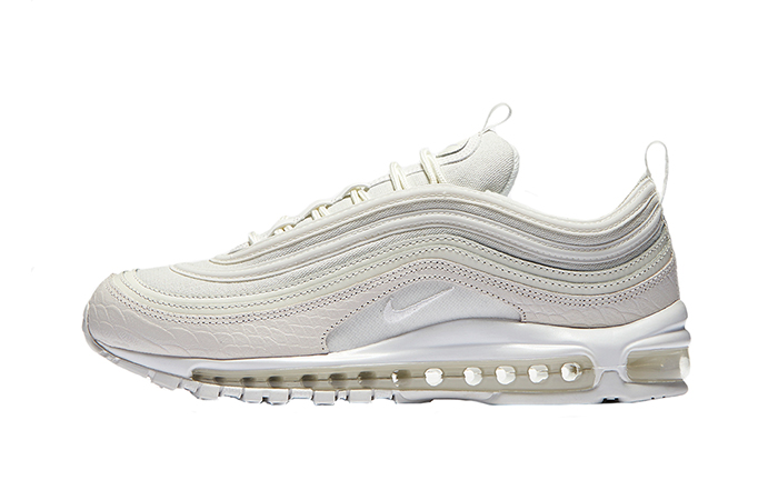 Nike Air Max 97 White Snakeskin 921826-100 Sneaker in UK EU, Trainer in UK EU, Yeezy Nike Jordan adidas NMD Reebok in UK DE EU 10