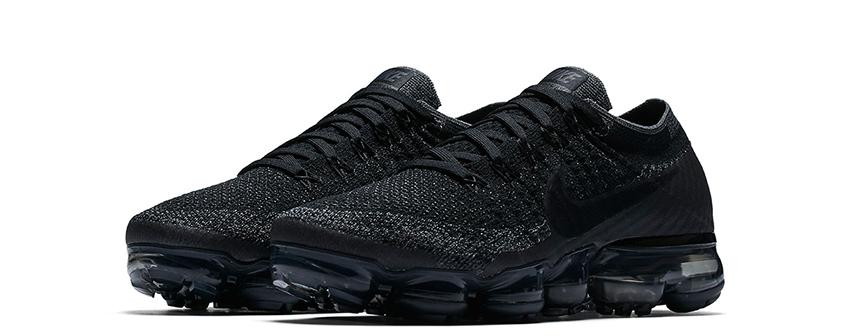 Nike Air Vapormax Triple Black Release