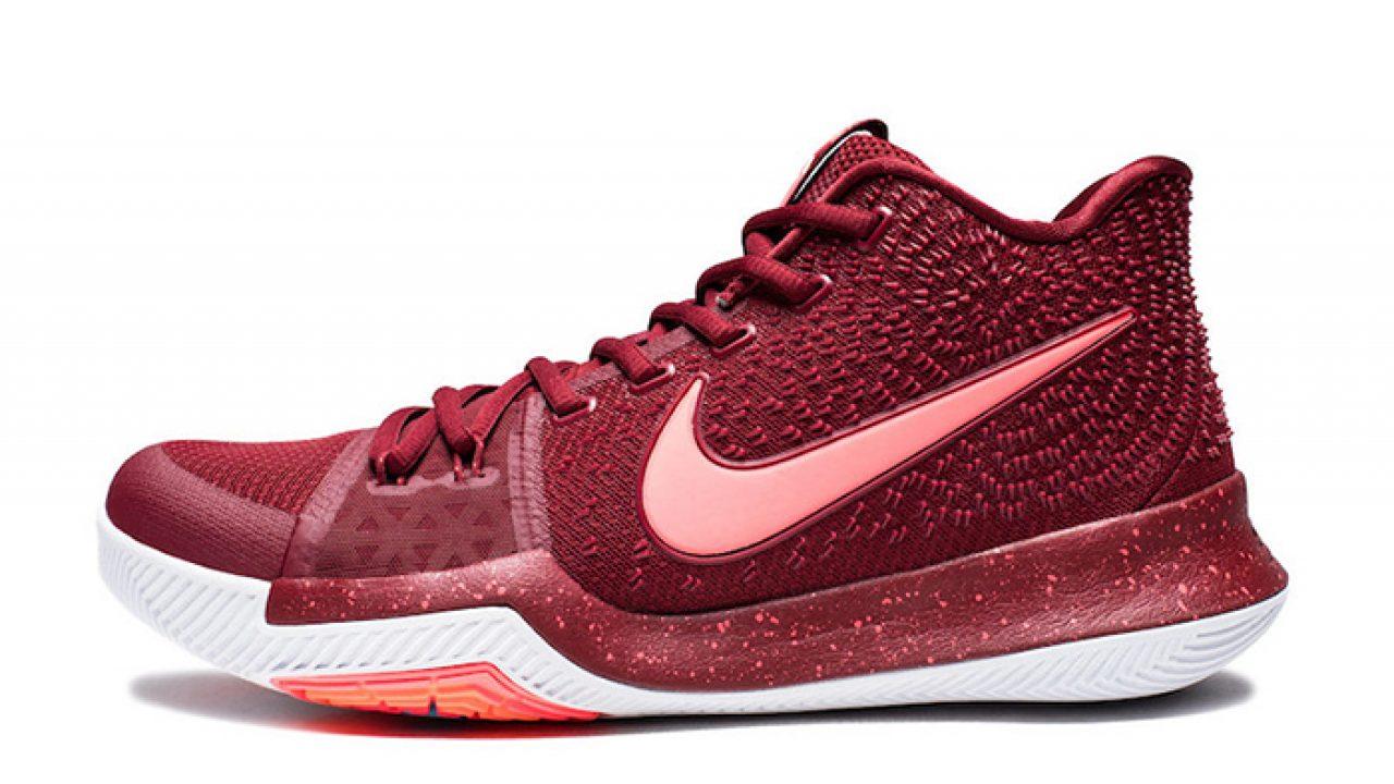 meet 09b9f ff0e4 Nike Kyrie 3 Team Red