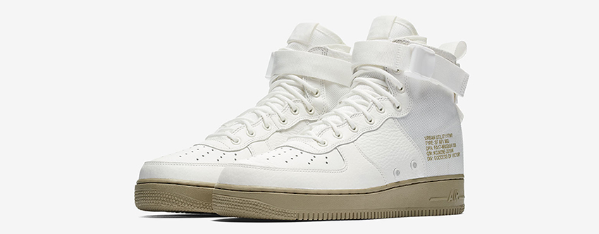 Nike SF AF1 Mid Ivory Official Look 01
