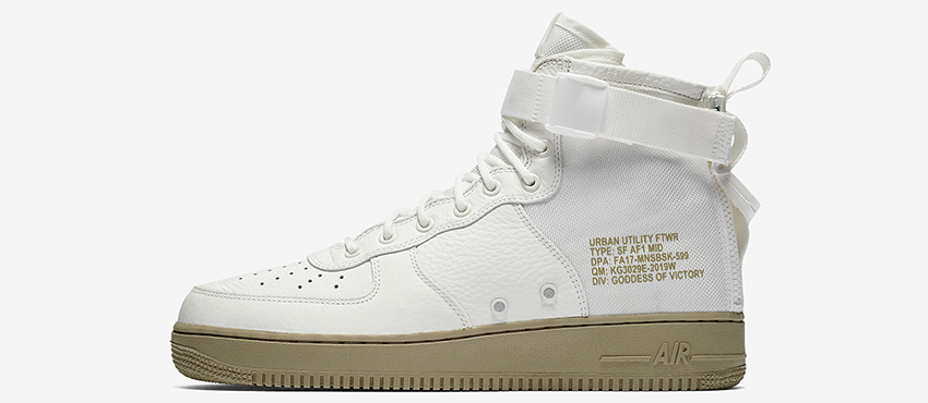 Nike SF AF1 Mid Ivory Official Look 06