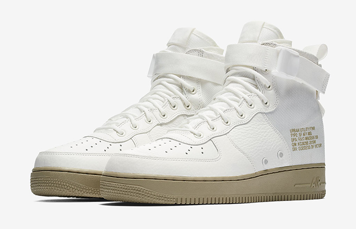 Nike SF Air Force 1 Mid Ivory 917753-101 04