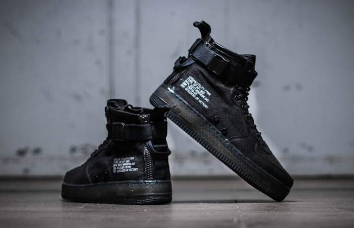 the best attitude afaf7 3162b Nike SF Air Force 1 Mid Tiger Camo