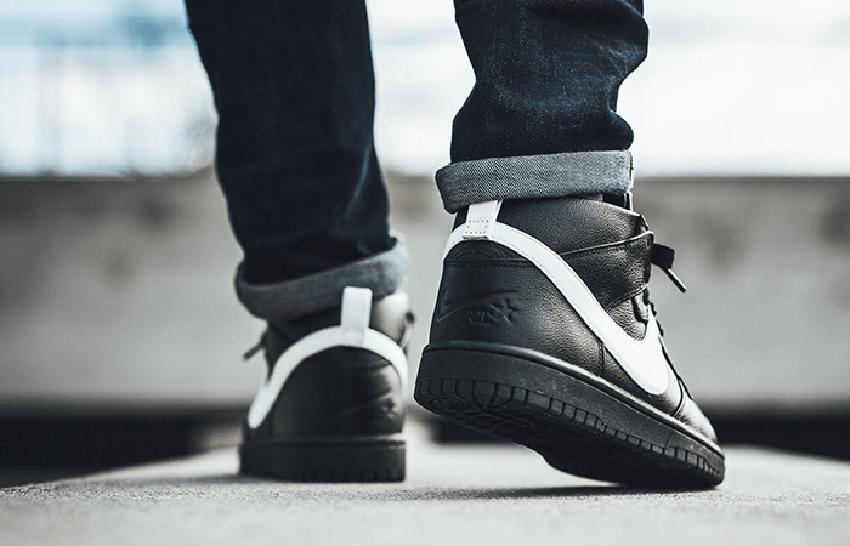 Nike x Riccardo Tisci Dunk Lux Chukka Black – £135