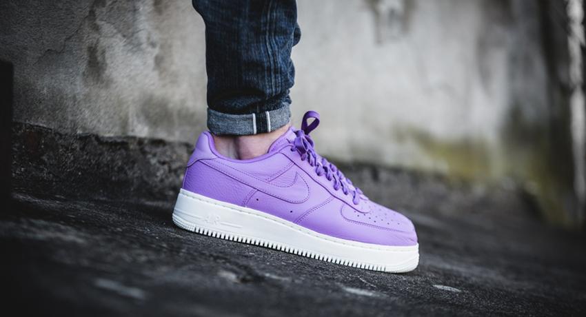 NikeLAB Air Force 1 Purple Stardust – £69