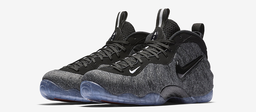 372a7b0a8f4a2 Official Look at the Nike Air Foamposite Pro Tech Fleece 624041-007 Buy New  Sneakers